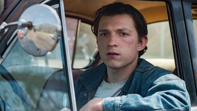 Film The Devil All The Time yang menampilkan aksi sejumlah bintang kenamaan Hollywood mulai tayang di Netflix pada 16 September.