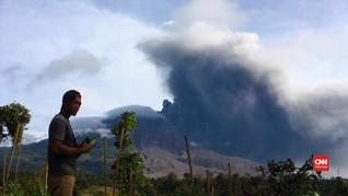 VIDEO: Enam Hari Terakhir, Gunung Sinabung 11 Kali Erupsi