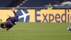 FOTO: Barcelona Tersungkur dan Tersingkir dari Liga Champions