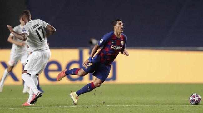 Sedikitnya ada empat catatan mengejutkan yang ditorehkan Bayern Munchen usai membantai Barcelona 8-2 di Liga Champions.