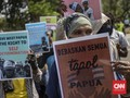 Panas Dingin Konflik Papua di Tangan Jokowi