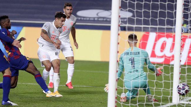Mimpi buruk bakal kembali dialami Barcelona jika Philippe Coutinho berhasil meraih gelar Liga Champions musim ini.