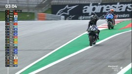 VIDEO: Detik-detik Vinales Marah di FP1 MotoGP Austria