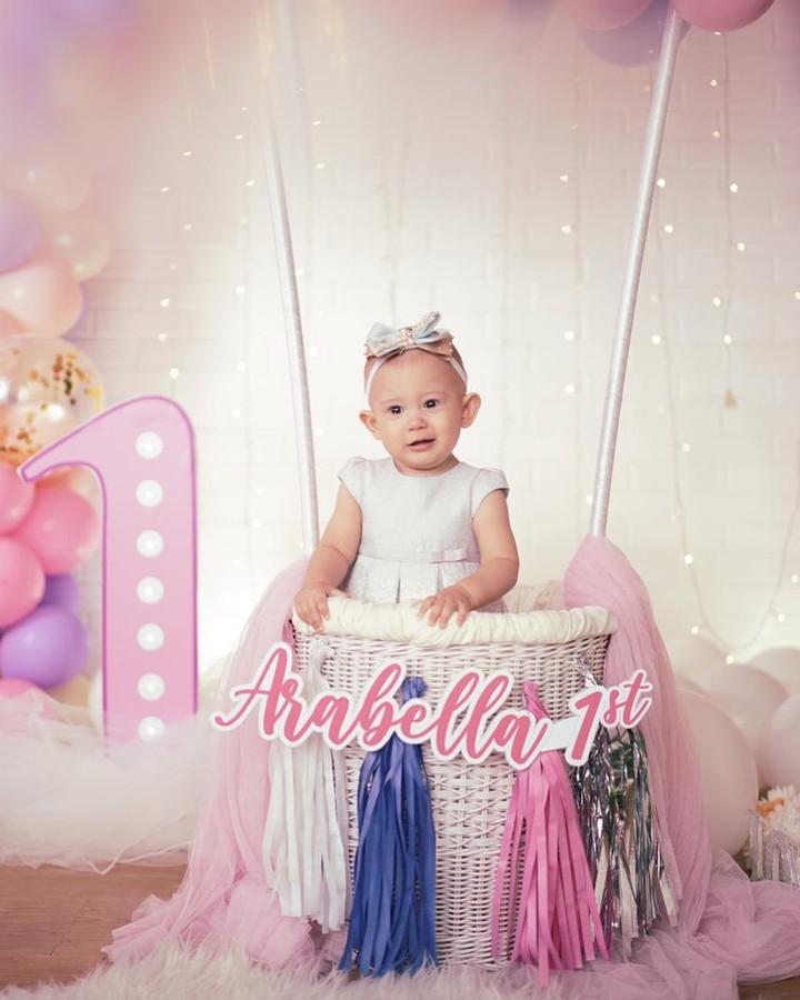 Arabella, anak Aura Kasih