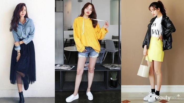 Ide Mix and Match Baju Boyish Jadi Lebih Cute dan Girly!