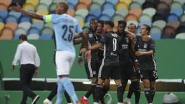 Man City Tertinggal 0-1 dari Lyon di Babak Pertama