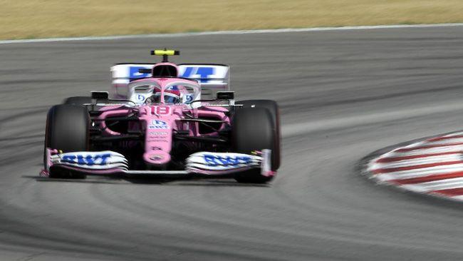 Pembalap BWT Racing Point, Lance Stroll berhasil meraih pole position F1 GP Turki setelah jadi yang tercepat di babak kualifikasi.