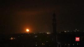 VIDEO: Tentara Israel Serang Markas Hamas di Gaza