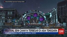 VIDEO: Festival Seni Cahaya Terbesar di Asia Tenggara