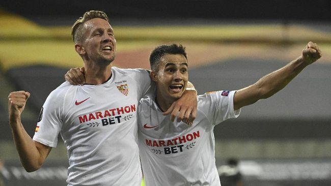 Laga Sevilla vs Inter Milan di final Liga Europa 2020 diprediksi akan berlangsung menarik karena kekuatan kedua tim yang berimbang.
