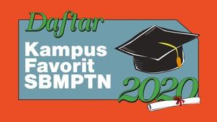 INFOGRAFIS: Daftar Kampus Favorit SBMPTN 2020