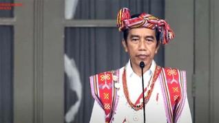 Makna Baju Adat NTT yang Dikenakan Jokowi pada HUT RI ke-75