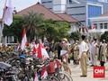 Cara Komunitas Ontel Peringati HUT ke-75 RI di Semarang