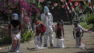 FOTO: Semarak Lomba HUT Kemerdekaan di Tengah Pandemi