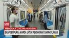 VIDEO: Penumpang MRT Peringati Detik-detik Proklamasi
