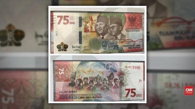 VIDEO: Uang Kertas 75 Ribu Hanya Dicetak 75 Juta Lembar