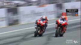 VIDEO: Momen Kemenangan Dovizioso di MotoGP Austria 2020
