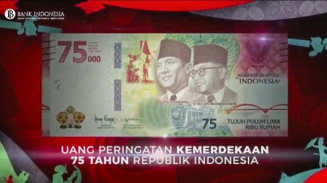 Ekonom menilai peluncuran uang dengan nilai pecahan baru Rp75 ribu tak pengaruhi laju inflasi RI.