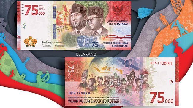 Bank Indonesia (BI) akan mempelajari lebih lanjut mengenai penggunaan teknologi augmented reality (AR) pada uang pecahan Rp75 ribu.