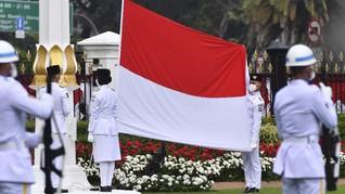Upacara HUT ke-75 RI di Istana Pecahkan Rekor Muri