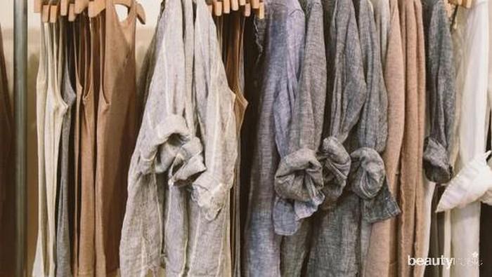 5 Trik Merawat Baju Berbahan Linen Agar Tetap Awet