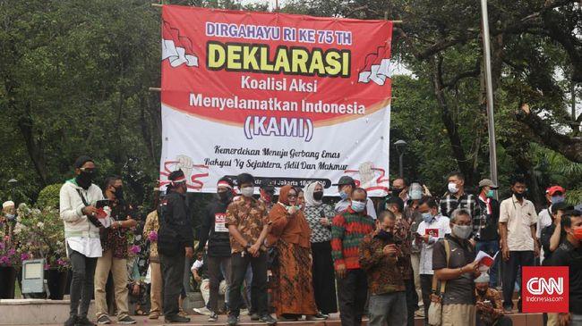 KAMI menyampaikan surat terbuka kepada Presiden Jokowi yang menyinggung trauma akibat kebangkitan neo komunisme dan PKI gaya baru.