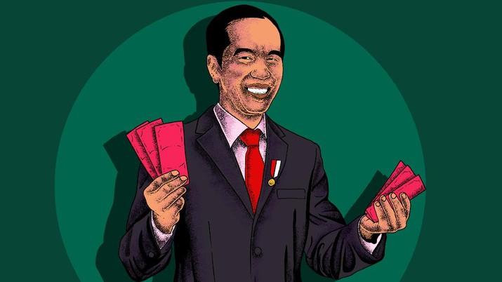 Foto: Ilustrasi Presiden Joko Widodo (CNBC Indonesia/Arie Pratama)