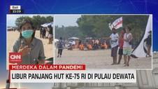 VIDEO: Libur Panjang HUT RI ke-75 di Bali