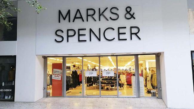 Perusahaan ritel Marks & Spencer rugi 87,6 juta poundsterling Inggris atau Rp1,67 triliun (kurs Rp18.700 per poundsterling) sampai 26 September 2020.