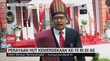 VIDEO: Perayaan HUT Kemerdekaan ke-75 RI di AS