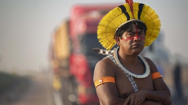 Jerit Suara Suku Amazon Tak Jadi Target Vaksin Corona