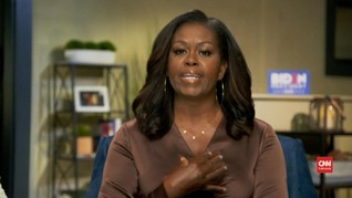 VIDEO: Michelle Obama Sebut Trump Gagal Pimpin AS