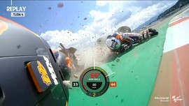 VIDEO: 7 Kecelakaan di MotoGP Austria