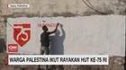 VIDEO: Warga Palestina Ikut Rayakan HUT Ke-75 RI
