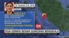 VIDEO: Dua Gempa Besar Guncang Bengkulu