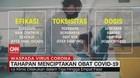 VIDEO: Tahapan Menciptakan Obat Covid-19