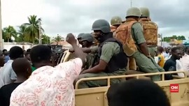 VIDEO: Tentara Pemberontak Kepung Kediaman Presiden Mali