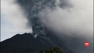 VIDEO: Aktivitas Gunung Sinabung Terus Meningkat