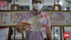 FOTO: Uang Baru Pecahan Rp75 Ribu