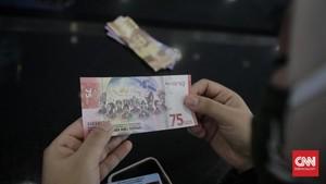 Cara Tukar Uang Baru Rp75 Ribu di Bank