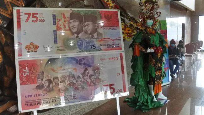Gubernur Kalimantan Utara Irianto menyinggung soal pikiran-pikiran kotor bahwa pemerintah salah cetak uang terkait hoaks baju adat China di uang Rp75 ribu.