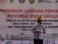 BPH Migas Resmikan BBM 1 Harga di Kabupaten Tojo Una Una