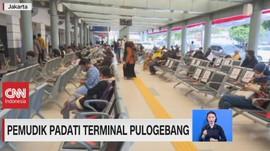 VIDEO: Pemudik Padati Terminal Pulogebang & Stasiun Senen