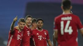 Hasil Liga Champions: Tekuk Lyon, Munchen Lawan PSG di Final