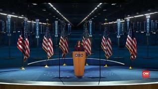 VIDEO: Momen Bersejarah Kamala Harris di Pilpres AS