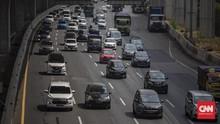 509 Ribu Kendaraan Keluar Jakarta, Arus Balik Sabtu-Minggu