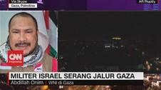 VIDEO: Militer Israel Serang Jalur Gaza