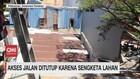 VIDEO: Akses Jalan Rumah Lansia Ditembok Paksa