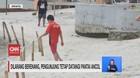 VIDEO: Dilarang Berenang, Pengunjung Tetap ke Pantai Ancol