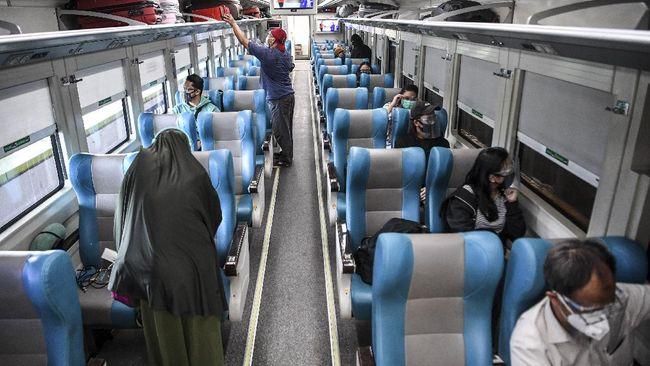 KAI membatalkan lima perjalanan kereta api dari Purwokerto ke sejumlah kota tujuan untuk keberangkatan mulai Selasa (8/9) besok.